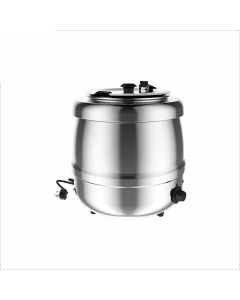 Kotlíkový ohrievač na polievku, nerezový, 400 W, Kapacita 10L