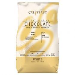 Čokoláda do Fontán Callebaut Biela 2,5kg